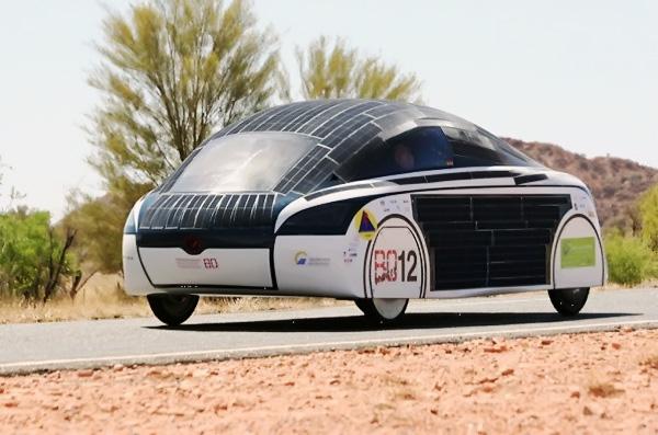 Уникальный автомобиль на солнечных батареях «SolarWorld GT» – в Донецкой академии автомобильного транспорта …