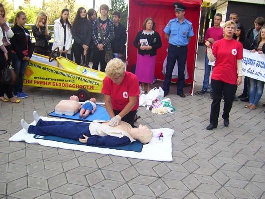 В Академии прошел всемирный день предоставления первой медицинской помощи