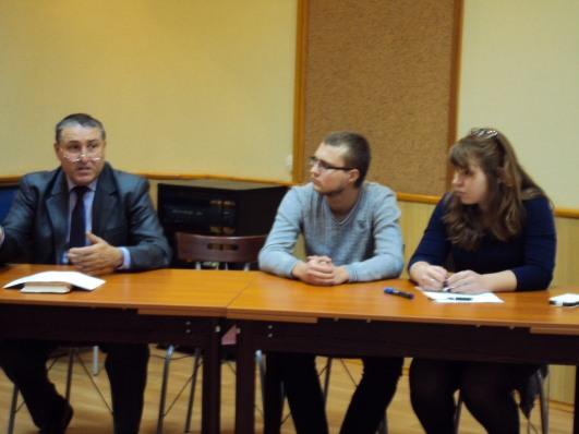 Студенты Донецка — за безопасность дорожного движения!