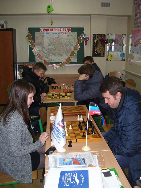 Итоги Открытого Чемпионата Академии по шахматам и шашкам