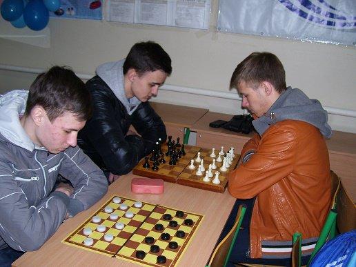 Стартовал весенний чемпионат Академии по шашкам и шахматам