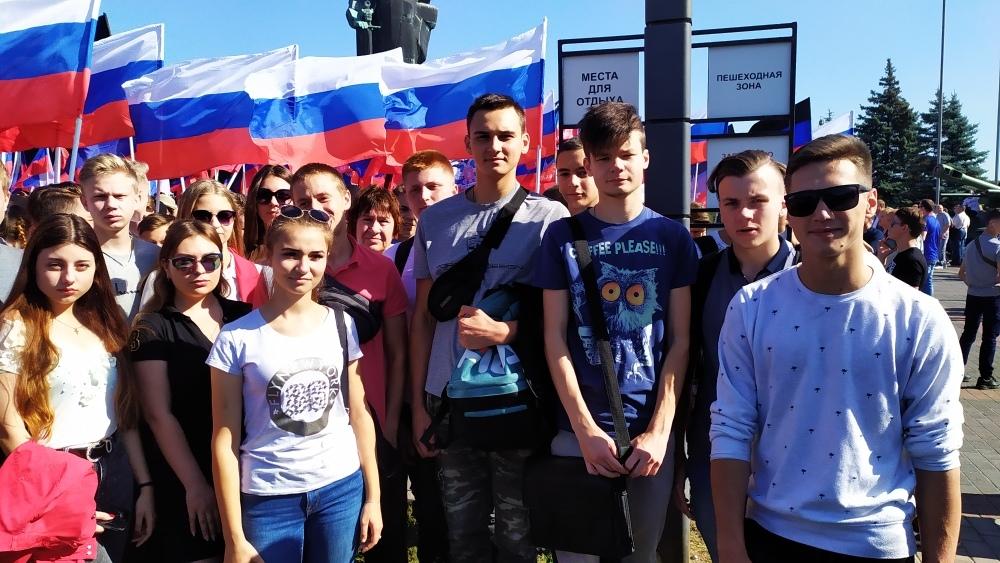 День освобождения Донбасса. Митинг 6.09.19
