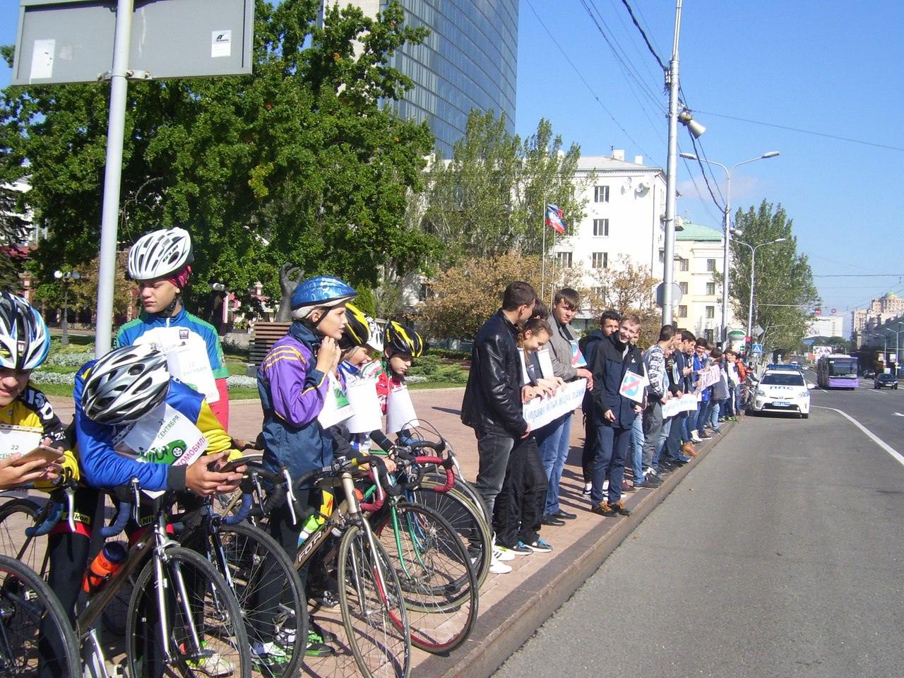 ОО «За БДД» ДААТ провела акцию «Всемирный день без автомобиля»