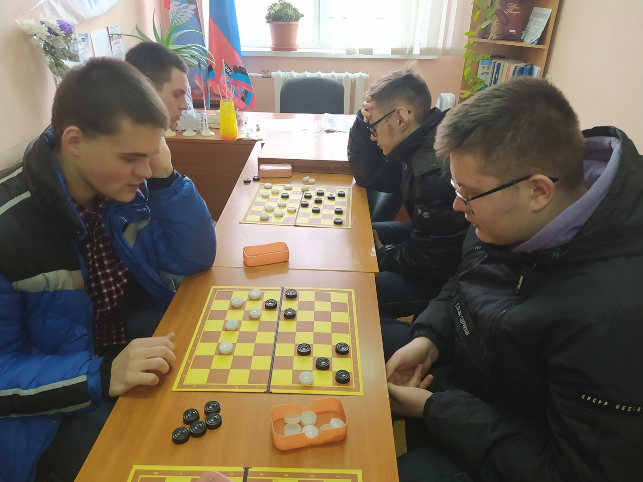 Сегодня, 24 февраля 2021 года, завершилось Первенство академии по шашкам.