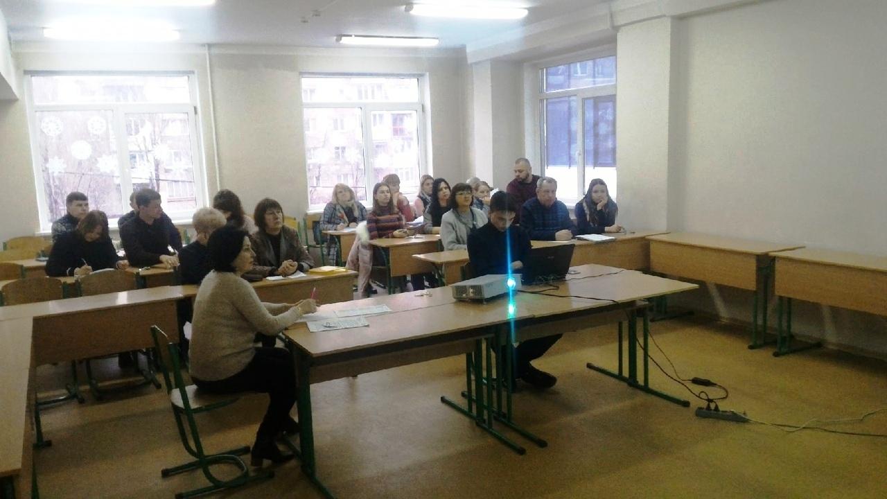 Сегодня, 14 января 2020 года, в Донецкой академии транспорта состоялось практическое занятие по повышению квалификации преподавателей