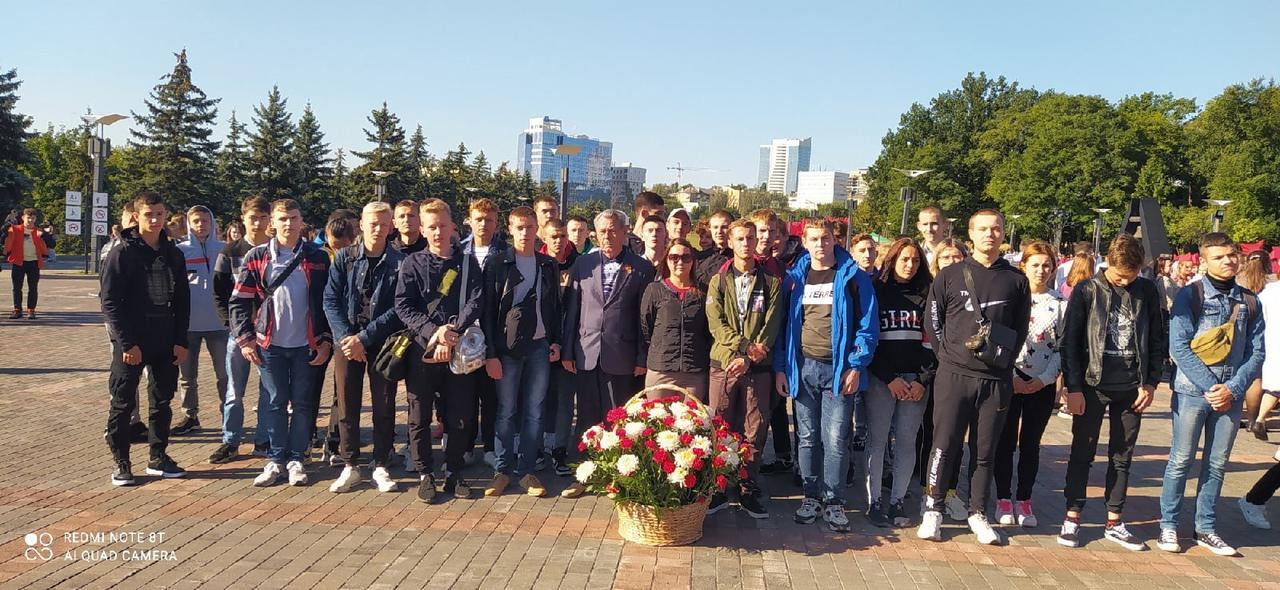 Митинг, посвященный Дню освобождения Донбасса